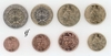 France all 8 coins 1999