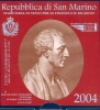 2 Euro CC San Marino 2004 UNC in Folder