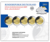 2 Euro CC-Set Germany 2007  Schloss Schwerin Proof