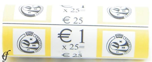 belgien rolle 1 euro 2002 eurofischer. Black Bedroom Furniture Sets. Home Design Ideas