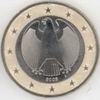 Germany 1 Euro A Berlin 2008 from original set