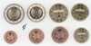 Germany all 8 coins D Munich 2002