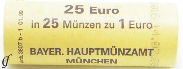 deutschland rolle 1 euro 2004 d m nchen eurofischer. Black Bedroom Furniture Sets. Home Design Ideas