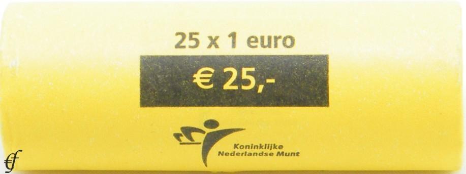 niederlande rolle 1 euro 2006 eurofischer. Black Bedroom Furniture Sets. Home Design Ideas