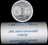 Roll Germany 10 Euro 2009 UNC 600 Years University Leipzig