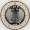 Germany 1 Euro D Munich 2009 from original set