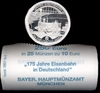 Roll Germany 10 Euro 2010 UNC railway