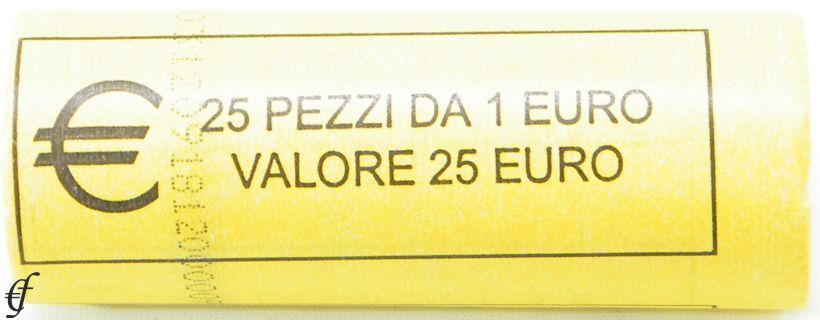 italien rolle 1 euro 2009 eurofischer. Black Bedroom Furniture Sets. Home Design Ideas