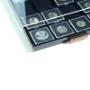 Coin Box QUADRUM 20 squarecompartments up to 50 mm ø, smoke coloured, con black drawer