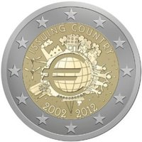 2012 - 10 Years banknotes and coins