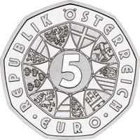 5 Euro Münzen österreich Stempelglanz Unc Eurofischer
