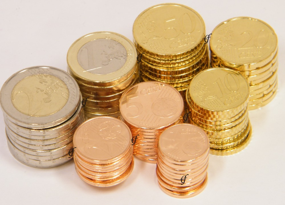 10 X Deutschland Alle 8 Münzen Mit 2 Euro Adler Eurofischer