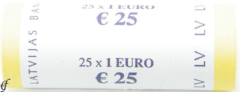 lettland rolle 1 euro 2014 eurofischer. Black Bedroom Furniture Sets. Home Design Ideas