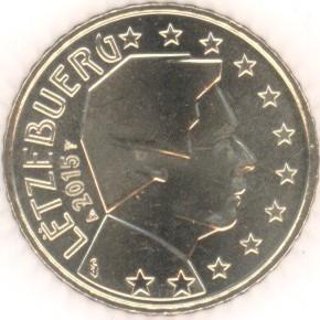 Luxemburg 50 Cent 2015 Eurofischer