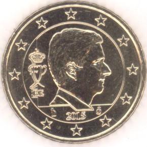 Belgien 50 Cent 2015 Eurofischer