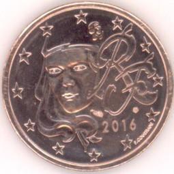 Frankreich 5 Cent 2016 Eurofischer