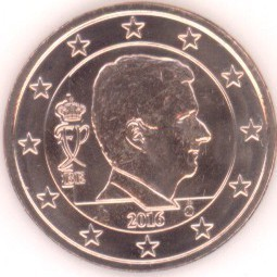 Belgien 5 Cent 2016 Eurofischer