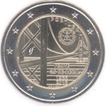 Portugal 2 Euro CC 2016 The 25th April Bridge
