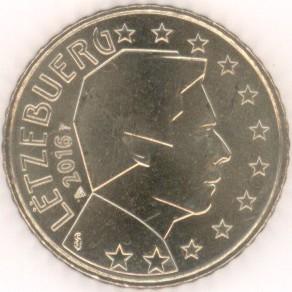 Luxemburg 50 Cent 2016 Eurofischer