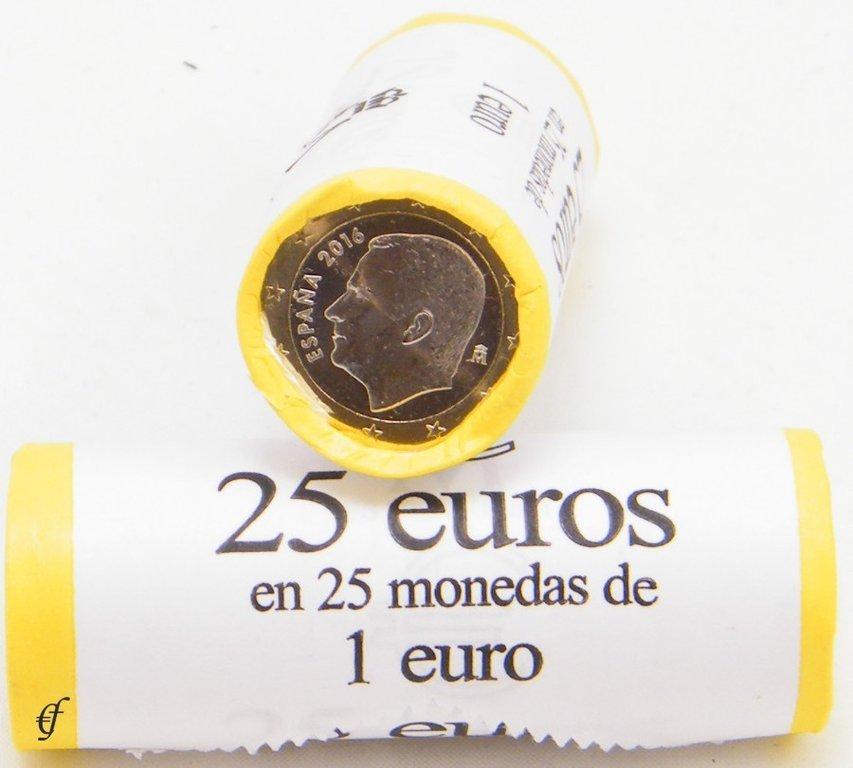 spanien rolle 1 euro 2016 ebay. Black Bedroom Furniture Sets. Home Design Ideas