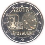 Luxembourg 2 Euro CC 2017 Military Service