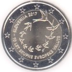 Slovenia 2 Euro CC 2017 Euro Introduction