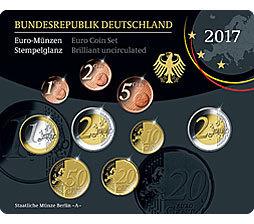 Deutschland Original Kms 2017 Prägestätte Wählen Eurofischer