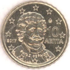 Griechenland 10 Cent 2017 Eurofischer