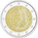 Finland 2 Euro CC 2017 Independence proof Presale