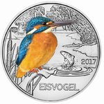 Austria 3 Euro CC 2017 The Kingfisher