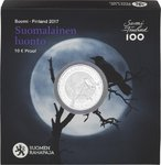 Finland 10 Euro CC 2017 Finnish Nature Proof Presale