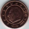 Belgien 2 Cent 2005 aus original KMS