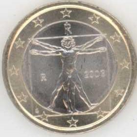 Italien 1 Euro 2003 Eurofischer