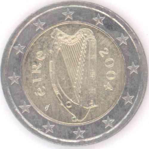 Irland 2 Euro 2004 Eurofischer