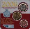 San Marino original Mini Kit 2006 mit 5c, 50c + 1 Euro