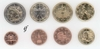 Italy all 8 coins 2004