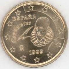 Spanien 10 Cent 1999 Eurofischer