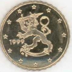 Finnland 10 Cent 1999 Eurofischer