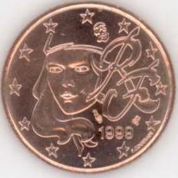 Frankreich 5 Cent 1999 Eurofischer