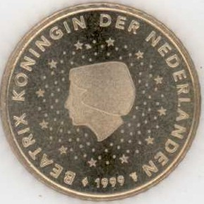 Niederlande 50 Cent 1999 Eurofischer