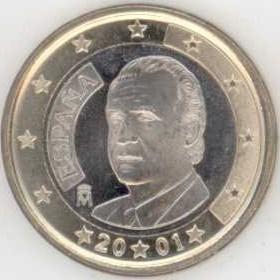Spanien 1 Euro 2001 Eurofischer