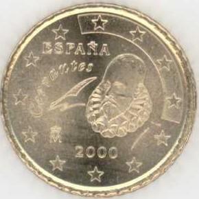 Spanien 50 Cent 2000 Eurofischer