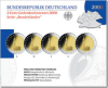 2 Euro CC-Set Germany 2008 Hamburger Michel Proof