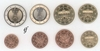 Germany all 8 coins D Munich 2004