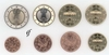 Germany all 8 coins F Stuttgart 2006