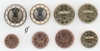 Germany all 8 coins J Hamburg 2003