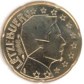 Luxemburg 20 Cent 2008 Eurofischer