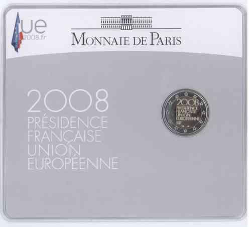 2 Euro Coincard France 2008 Eurofischer