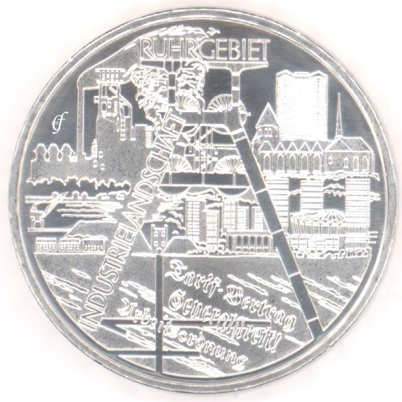 Deutschland 10 Euro 2003 Bfr Ruhrgebiet Eurofischer