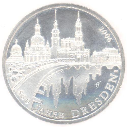 Germany 10 Euro 2006 Unc Dresden Eurofischer